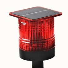 Bright Panjang Visibilitas Barricade Beacon Solar Powered LED Light