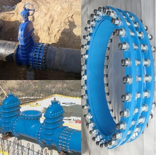 cast iron dismantling joint expansion joint for municipal water supply pipe line