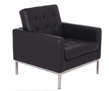 Modern Living Room Leather Sofa