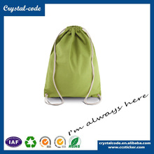 High Quality Update Cotton Canvas Drawstring Cloth Carrying Bag
