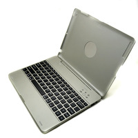 360 Rotatable slide wireless bluetooth keyboard for apple ipad 2 / 3 amazon kindle fire hd bluetooth keyboard case