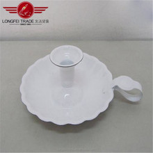 Hot Sale In Summer Night For A Romantic Atmosphere Enamel Candle Holder