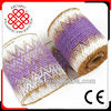 plastic flower packing mesh/Christmas flower wrapping mesh(15cmWGS)