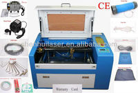 SH-350 paper cuttting machine, wedding gift box laser cutting & drilling