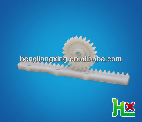 plastic rack and pinion gear for printer using