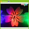 latest wedding stage flower decoration led inflatable flower chain