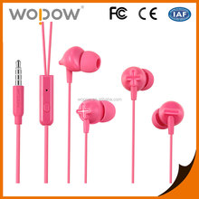 2017 Wopow new earphone products in-ear sport mobile headphones for nokia