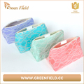 Newest fashion travel cosmetic bag mesh cosmetic makeup bag wholesale