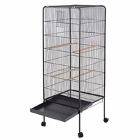 "58"" Inch Large Finch Folding Handmade Macaw Cockatiel Cockatoo Bird Parrot Cages"