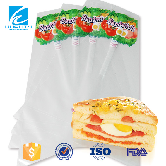 Aseptic plastic packaging and printing sandwich bags