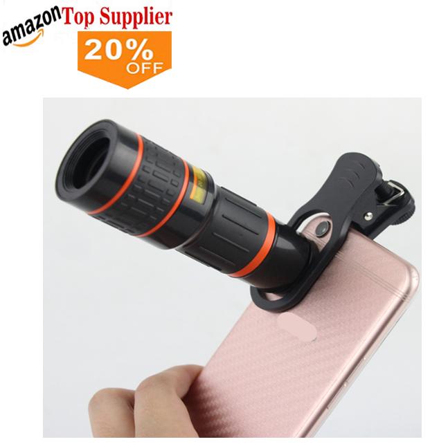 Amazon Bestseller 2018 Trending Handy-Zubehör optisches Clip-Teleskop 18X Telefon Zoom-Kameraobjektiv für Mobiltelefon - ANKUX Tech Co., Ltd