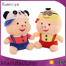 China Newest Plush Stuffed Custom Kids Toys McDull Wholesale Pig Toy