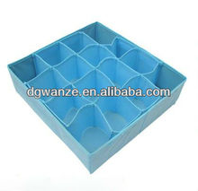 foldable fabric lined storage box