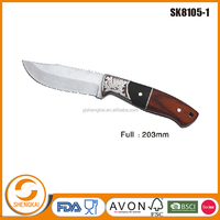 1pc very fashion style stainless steel hunting knife blade blanks