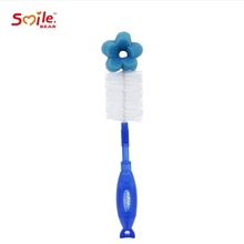 Arrival Manual Baby Bottle Cleaning <strong>Brush</strong> for Baby Milk Bottle wholesale