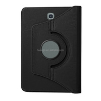 new products 2016 360 degrees rotate holder pu leather back case cover for samsung galaxy tab s2 8.0 fast shipping