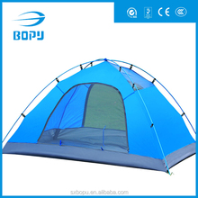 2016 wholesale waterproof aluminum alloy pole double outdoor camping tent