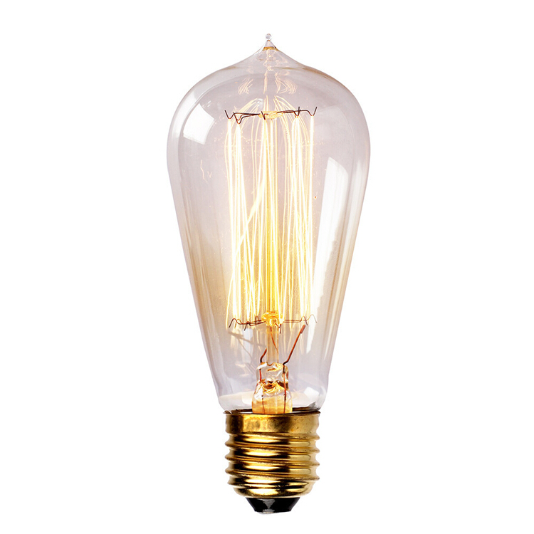 Wholesale price vintage edison bulbs e26 e27 t45 incandiscent light bulbs for decoration of Cost of light bulb