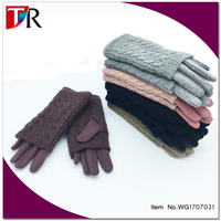 2017 New Knit Mitten Gloves In