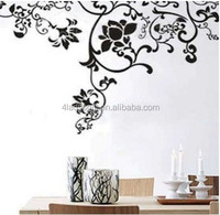 Weather proof best quality colorful removable mural decoration sticker kitchen or dining custom wall decal