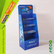Retail store Shampoo cardboard display stand for sales promotion