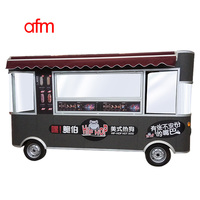 new chinese style burger trailer