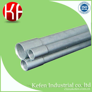 RSC galvanized steel electrical conduit pipe/ rigid metal conduit