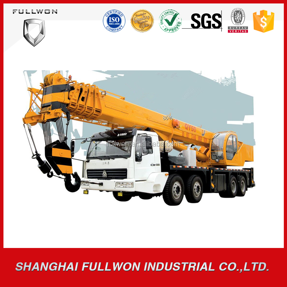 chinese popular 50 ton mobile crane for sale