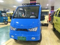 right steering solar electric mini passenger van