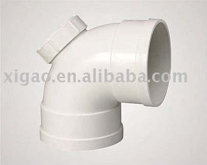 pipe and fitting pvc pipe fittings pipe fittins 90 deg elbow with port