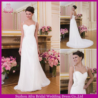 SD2263 chiffon beach wedding dress bridal changing dresses 2015 china custom made wedding dress