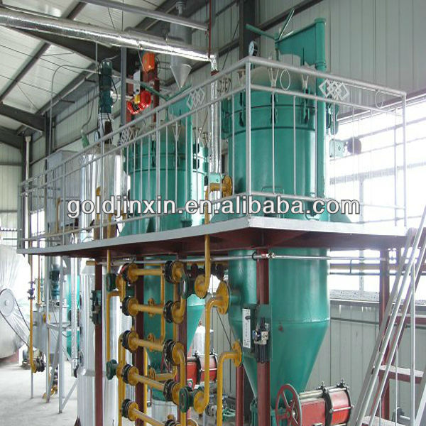 Advanced technology automatic cotton oil refinery processing equipment popular around the American and Europe