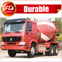 Sinotruk 8 m3 HOWO chassis 6*4 concrete mixer truck in good condition for sale