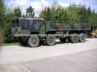 Second Hand MAN KAT 1 8x8 Military Army Trucks