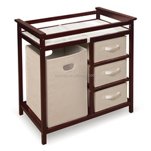 Modern baby furniture baby diaper changing table