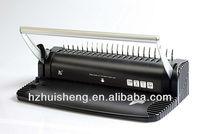 Office equipment plastic comb binding machineHS815