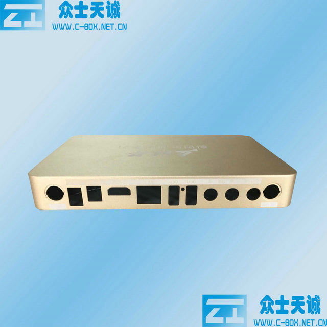 zk-115-1/ 190*130-26mm complete enclosure (height variable)  aluminum player shell metal enclosure