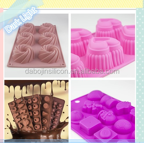 2016 Baking Product 15 Hole Graphics Cake Mold Baking Tools&Silicone Cake Tools with FDA&LFGB