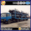 Car carrier semi trailer for transporter small car and pickup truck