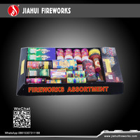 best selling assorted fireworks pack for christmas and kids