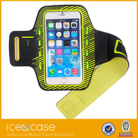 New Fashion led light sport running jogging smartphone armband case for iphone6