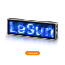 Flashing Rechargeable Led Name Badge Hair Salon Led <strong>Sign</strong>