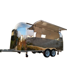 China food trailers airstream coffee cart mobile kitchen van