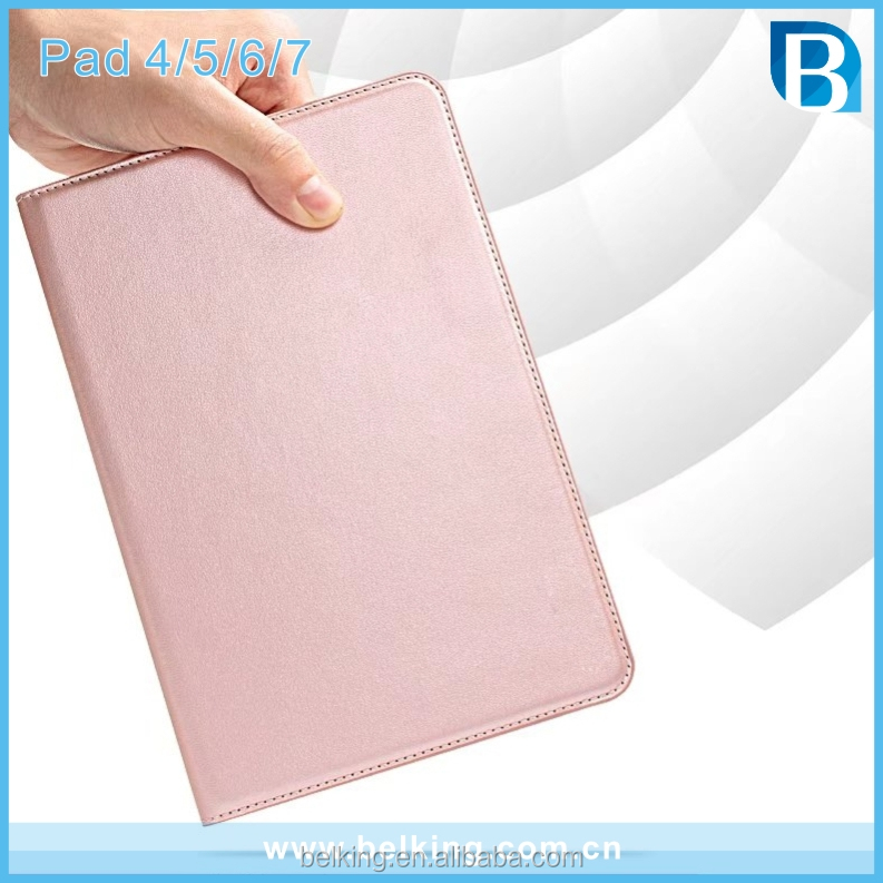 Tablet Leather Case For Ipad 4 5 6 7 Stand Leather Wallet Case