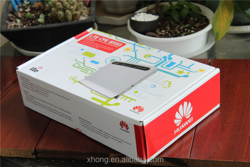 unlock portable huawei B593s-22 4g lte wireless 4g router with sim card slot 192.168.1.1