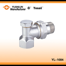 "Factory Product Brass YL-1084 Thermostatic Radiator 1/2"" Manual Angle Valve Price"