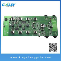 High standard Multilayer PCB design , pcba copy , pcba shenzhen PCB Assembly SMT DIP manufacturer led pcba