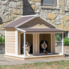 large outdoor new design wholesale insulated wooden dog house