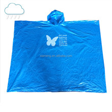 Wholesale high quality alibaba supplier PVC fashion foldable raincoat with pouch