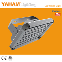 YAHAM smd flood lamp high brightness low price IP65 90w led tunnel lighting with MeanWell power supply